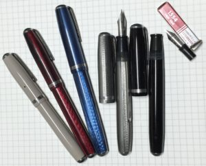 Variety of Esterbrook fountain pens