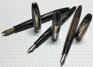 Sheaffer's lever fill vintage pens.