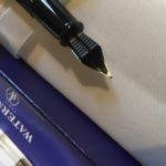 Underside of Waterman Phileas Nib
